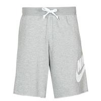 Textil Homem Shorts / Bermudas Nike M NSW SCE SHORT FT ALUMNI Cinza