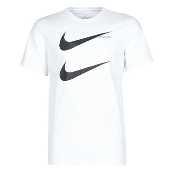 Textil Homem T-Shirt mangas curtas Nike M NSW SS TEE SWOOSH PK 2 Branco