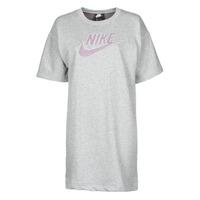 Textil Mulher Vestidos curtos Nike W NSW DRESS FT M2Z Cinza