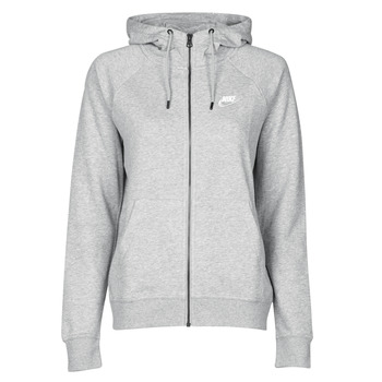 Textil Mulher Sweats Nike W NSW ESSNTL HOODIE FZ FLC Cinza