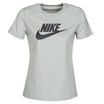 Textil Mulher T-Shirt mangas curtas Nike W NSW TEE ESSNTL ICON FUTUR Cinza