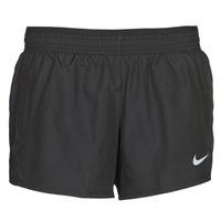Textil Mulher Shorts / Bermudas Nike W NK 10K SHORT Preto