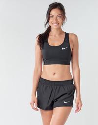 Textil Mulher Tops e soutiens de desporto Nike NIKE SWOOSH BAND BRA NON PAD Preto