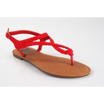 Sapatos Mulher Sandálias Xti Sandália de senhora  34263 vermelha Vermelho