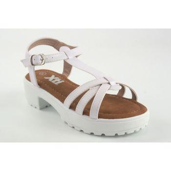 Sapatos Rapariga Sandálias Xti Sandália menina  57103 branca Branco