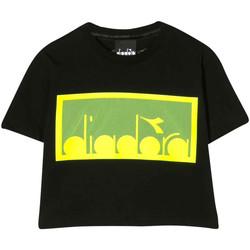 Textil Rapaz T-shirts e Pólos Diadora - T-shirt nero 022784-110 NERO
