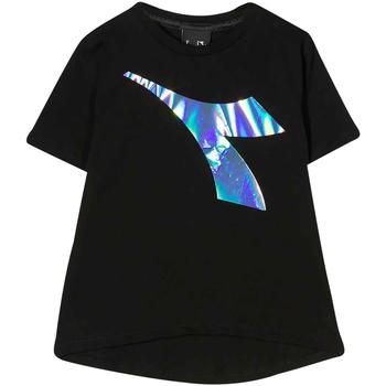 Textil Rapaz T-shirts e Pólos Diadora - T-shirt nero 022822-110 NERO