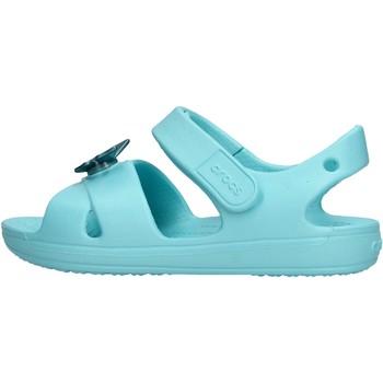 Sapatos Rapaz Sapatos aquáticos Crocs - Classic cross celeste 206245-409 CELESTE