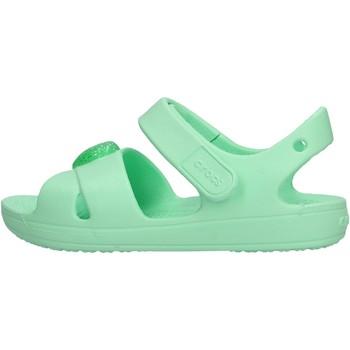 Sapatos Rapaz Sapatos aquáticos Crocs - Classic cross verde 206245-3T1 VERDE