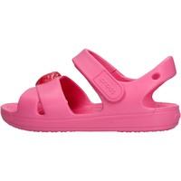 Sapatos Rapaz Sapatos aquáticos Crocs - Classic cross fuxia 206245-669 FUXIA