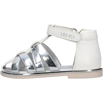 Sapatos Rapaz Sapatos aquáticos Liu Jo - Sandalo bianco SCILLA 604 BIANCO