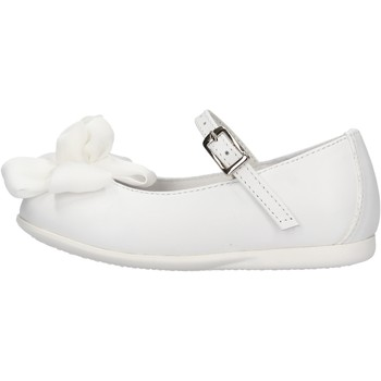 Sapatos Rapaz Sapatilhas Platis - Ballerina bianco P2076-10 BIANCO