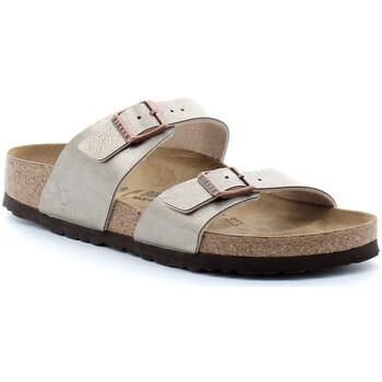 Sapatos Mulher Chinelos Birkenstock Sydney Beige