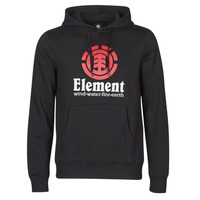 Textil Homem Sweats Element VERTICAL HOOD Preto