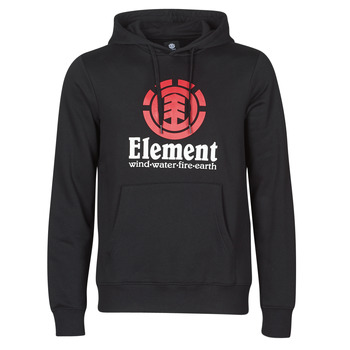 Textil Homem Sweats Element VERTICAL HOOD Preto