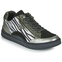 Sapatos Mulher Sapatilhas Regard IDEM V5 CRIS ACERO Preto