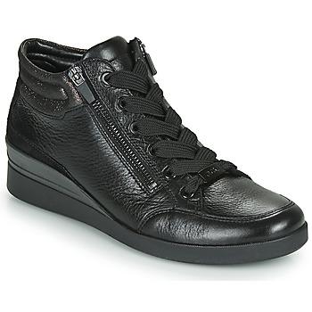 Sapatos Mulher Sapatilhas de cano-alto Ara LAZIO-ST-HS Preto