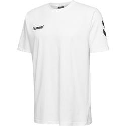 Textil Criança T-Shirt mangas curtas Hummel T-shirt enfant  hmlGO cotton blanc