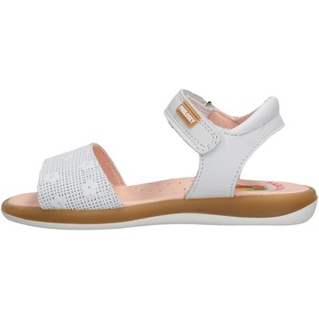 Sapatos Rapaz Sandálias Pablosky - Sandalo bianco 078700 BIANCO