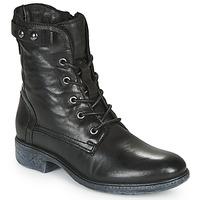 Sapatos Mulher Botas baixas Dream in Green NELATINE Preto