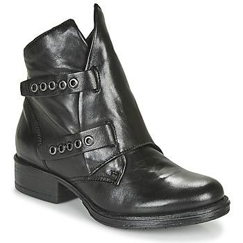 Sapatos Mulher Botas baixas Dream in Green NIMOVE Preto