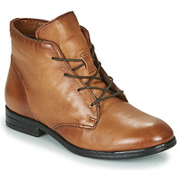 Sapatos Mulher Botas baixas Dream in Green NERGLISSE Camel