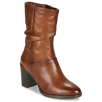Sapatos Mulher Botas Dream in Green NORGE Camel