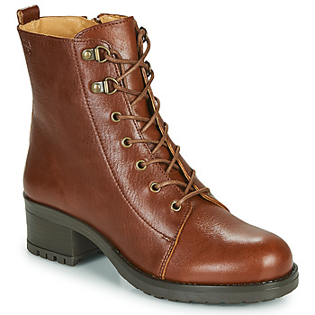 Sapatos Mulher Botins Dream in Green NAFFY Camel