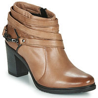 Sapatos Mulher Botas baixas Dream in Green NEGUS Castanho