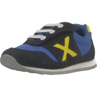 Sapatos Rapaz Sapatilhas Munich BABY DASH Azul