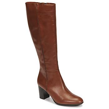Sapatos Mulher Botas Fericelli NAVAROIS Camel