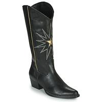 Sapatos Mulher Botas Fericelli NISCOME Preto / Ouro