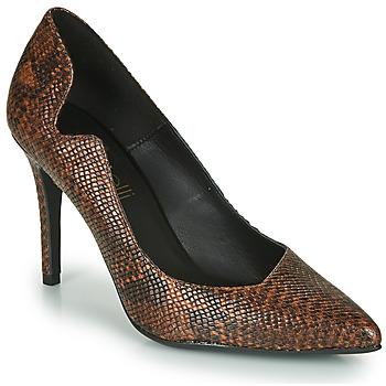 Sapatos Mulher Escarpim Fericelli NANELE Castanho
