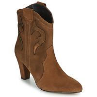Sapatos Mulher Botins Fericelli NARLOTTE Camel / Ouro
