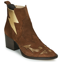 Sapatos Mulher Botins Fericelli NAUSSON Bege / Ouro