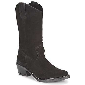 Sapatos Mulher Botas Casual Attitude NESCARGO Preto