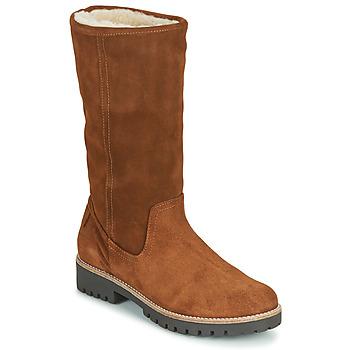 Sapatos Mulher Botas Casual Attitude NESCAGO Camel