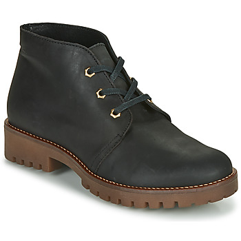 Sapatos Mulher Botas baixas Casual Attitude NIBELLULE Preto