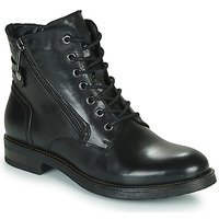 Sapatos Mulher Botas baixas Casual Attitude NUNAISE Preto