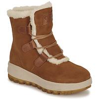 Sapatos Mulher Botas baixas Casual Attitude NAREIGNE Camel
