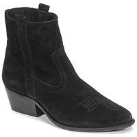 Sapatos Mulher Botins Casual Attitude NAUTERELLE Preto