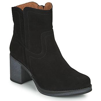 Sapatos Mulher Botins Casual Attitude NIGALE Preto