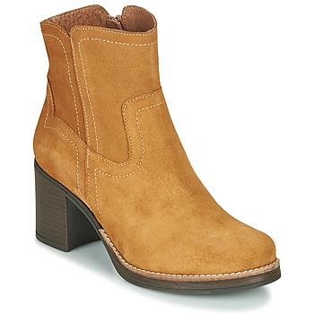 Sapatos Mulher Botins Casual Attitude NIGALE Camel