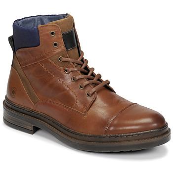 Sapatos Homem Botas baixas Casual Attitude NYSOPE Camel