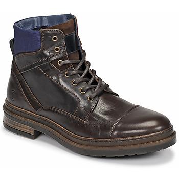 Sapatos Homem Botas baixas Casual Attitude NYSOPE Castanho