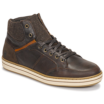 Sapatos Homem Sapatilhas de cano-alto Casual Attitude NOURDON Castanho