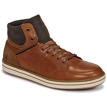 Sapatos Homem Sapatilhas de cano-alto Casual Attitude NOURDON Camel