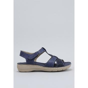 Sapatos Mulher Sandálias Amanda LIRIO Azul