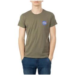 Textil Homem T-Shirt mangas curtas Nasa  Verde