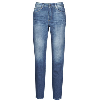 Textil Mulher Calças Jeans G-Star Raw 3301 HIGH STRAIGHT 90'S ANKLE WMN Cobalto